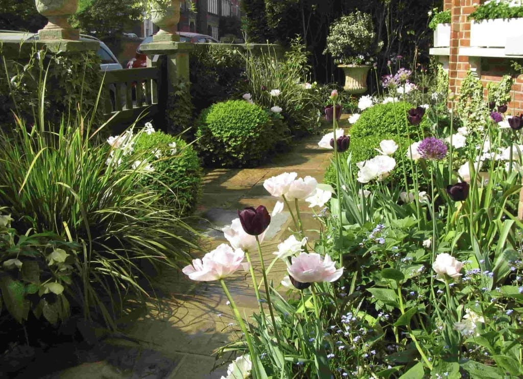 Formal Cottage Garden Living Colour Gardens