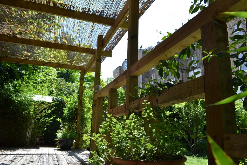 pergola-with-bamboo-cover