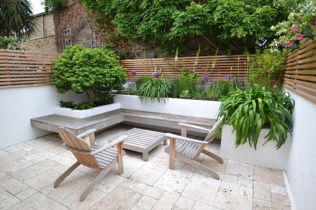 Top 10 benches in gardens living colour gardens for Outdoor rooms uk