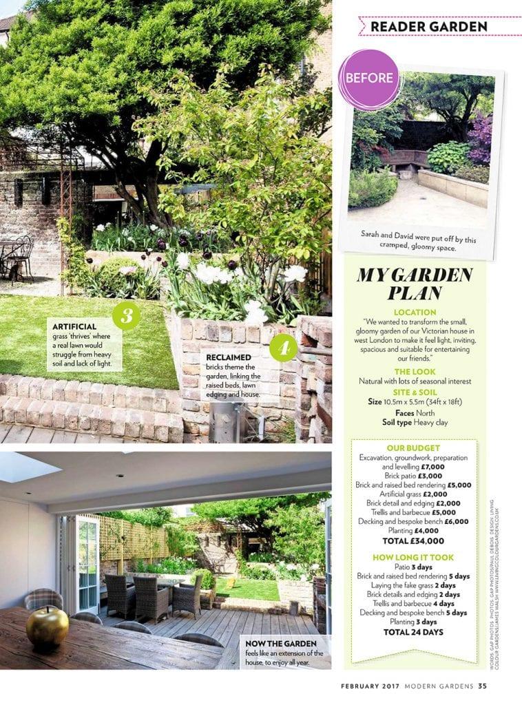 Article Of Our Garden In Modern Gardens Magazine Living
