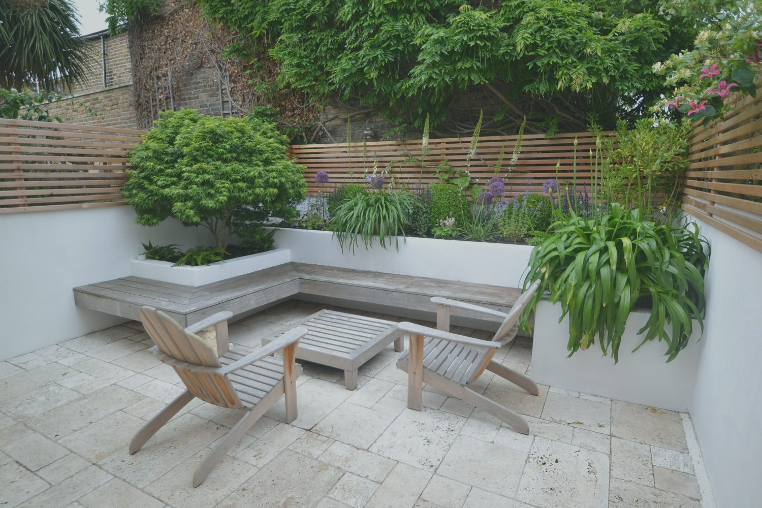 Floating Bench - Living Colour Gardens on Garden And Outdoor Living id=50443
