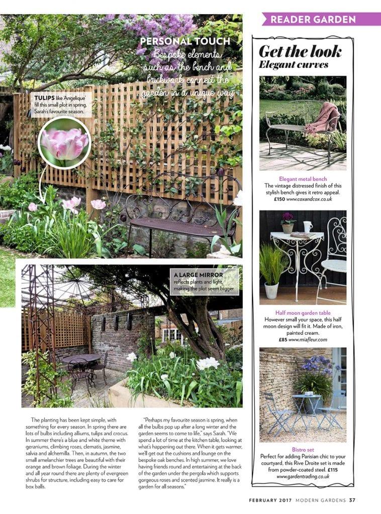 Article of our garden in Modern Gardens Magazine - Living ...
